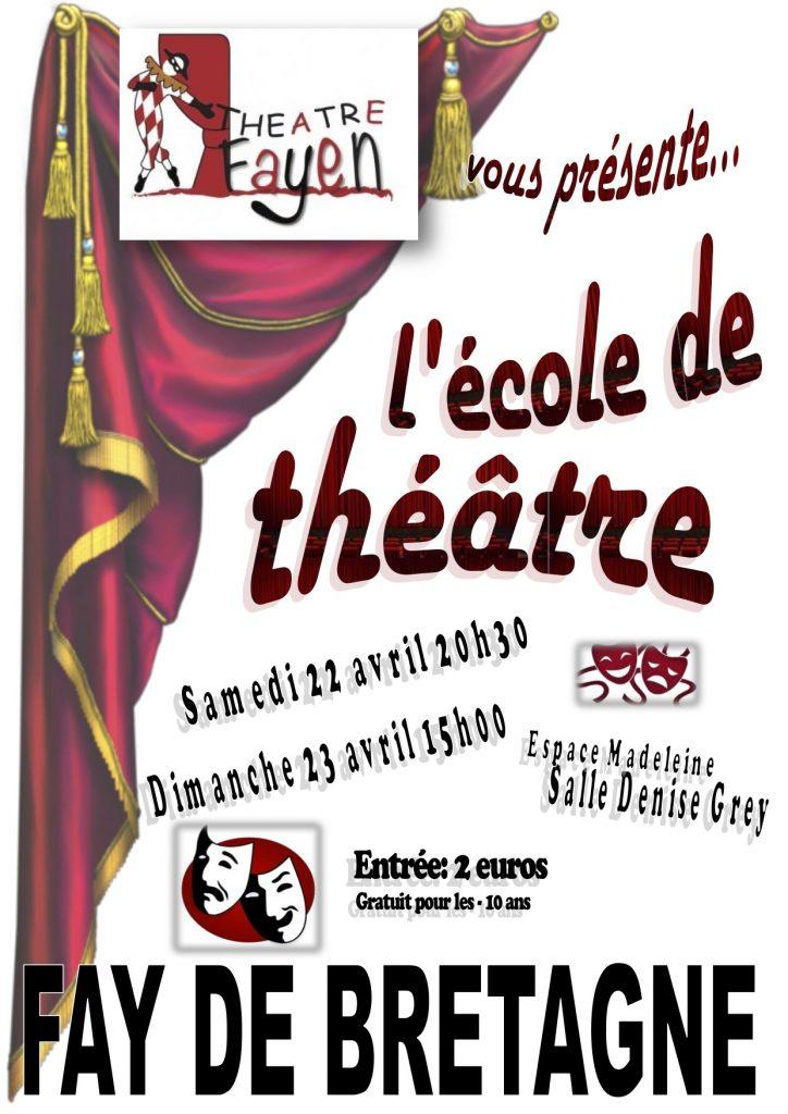 Affiche théâtre jeunes 2017 - 2